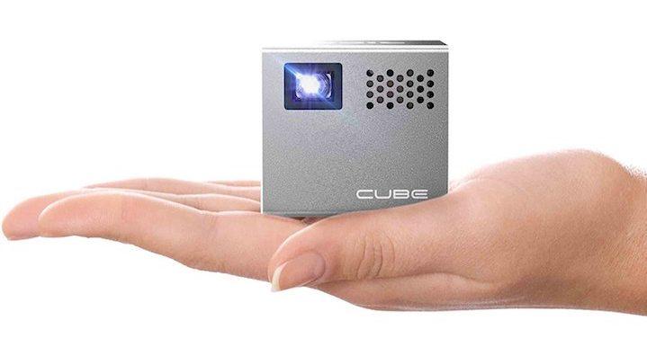 cube beamer würfelform
