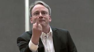 """Linus Torvalds explodiert: """"Manche Sicherheitsleute sind verfickte Idioten"""""""