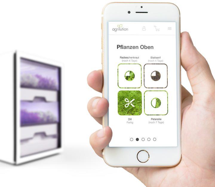 plantcube pflanzen mit app