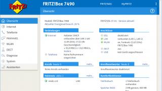 Fritzbox: AVM stellt FritzOS 7 für 7490 bereit
