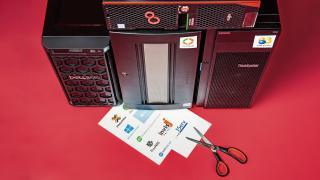 Hilfe für die Server-Betriebssystemauswahl