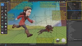 3D-Paket Blender 2.8: kostenlos, einsteigerfreundlich, standardkonform und kooperativ
