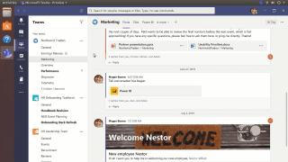 Teams erscheint als erste Office-Anwendung von Microsoft für Linux