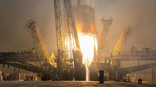 Startende Rakete