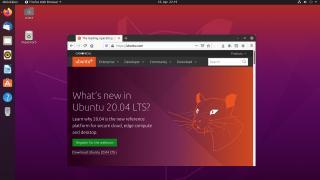 Ubuntu 20.04 LTS: Aufgefrischter Desktop und erweiterter längerer Support